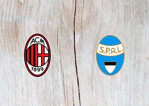 AC Milan vs SPAL Full Match & Highlights 29 December 2018