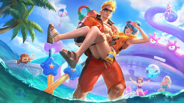 Summer Carnival Skin Wallpaper