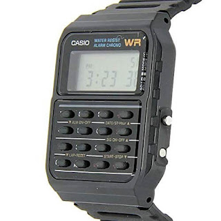 Casio 80s Back to the Future Calculator Watch