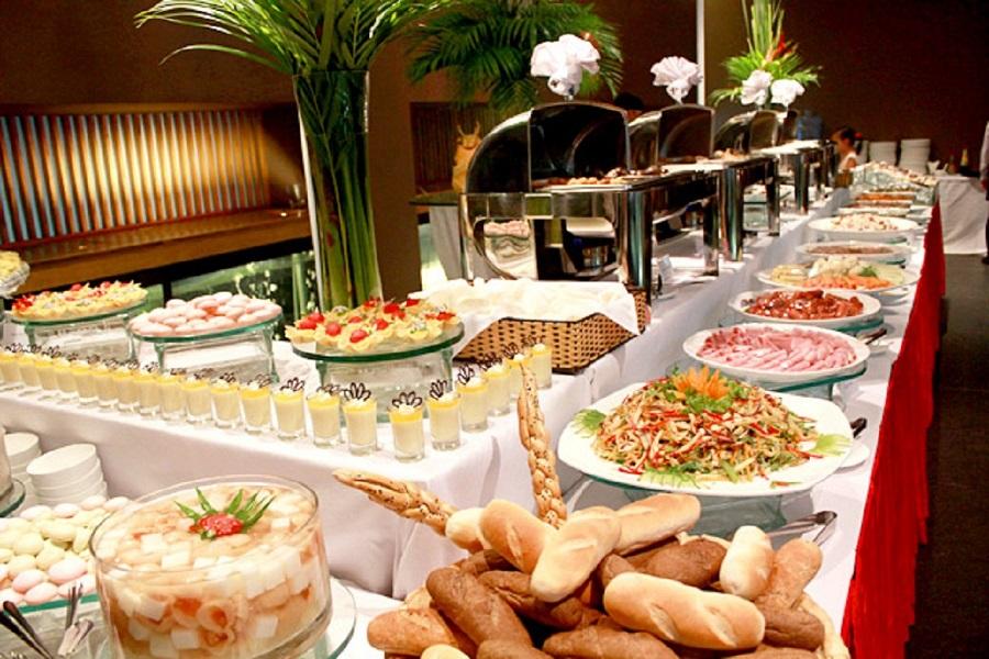 Hình tiệc buffet đẹp