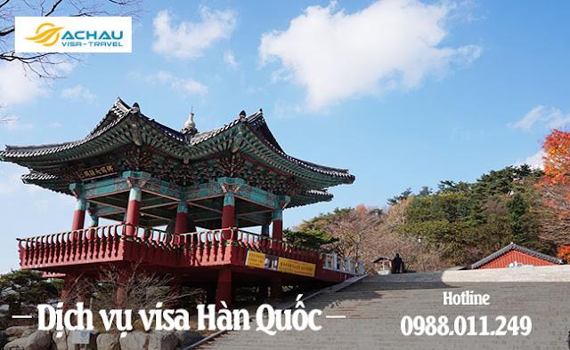 Dịch vụ visa Hàn Quốc giá rẻ ở Đắk Lắk