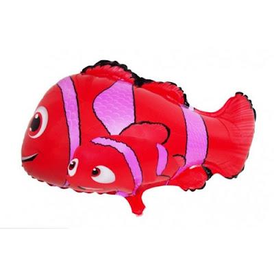 Balon Foil Karakter Ikan Nemo