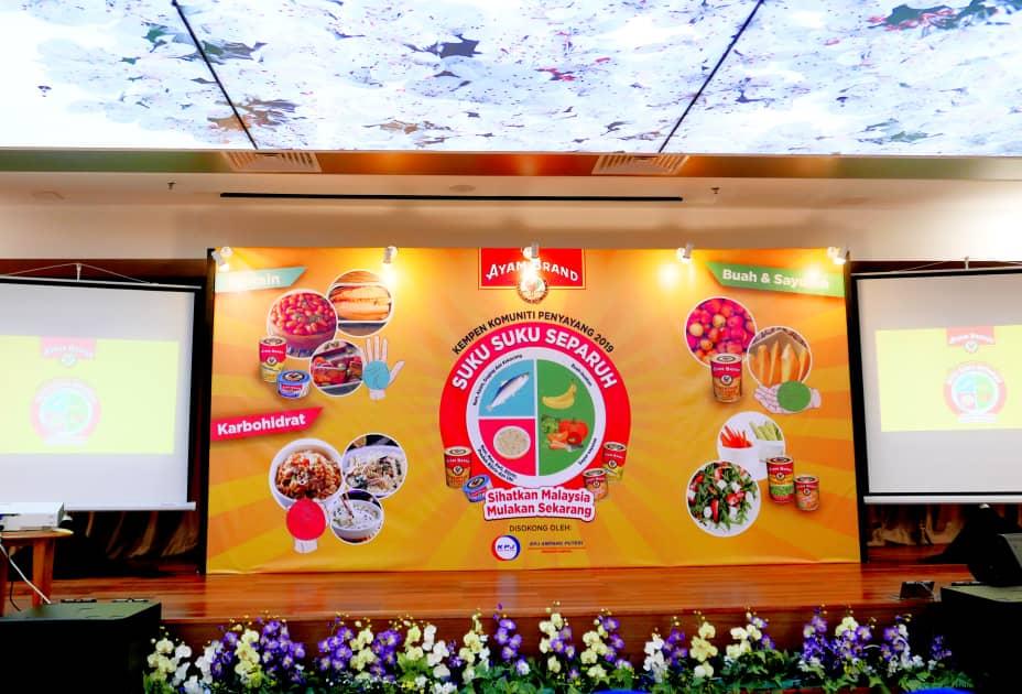 Kempen Komuniti Penyayang Ayam Brand™ 2019 Mesej Nutrisi Seimbang Di Seluruh Negara Untuk Melawan Obesiti Kanak-Kanak