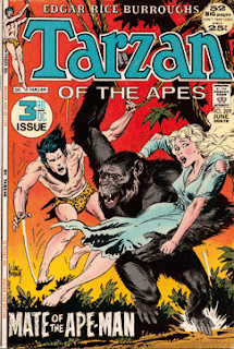 Tarzan of the Apes - Edgar Rice Burroughs in comic