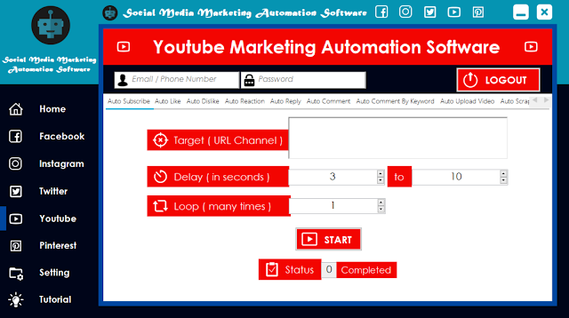 Youtube Marketing Automation Software