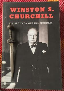 Portada del libro La Segunda Guerra Mundial, de Winston Churchill