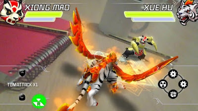 Download Invizimals Shadow Zone PSP PPSSPP
