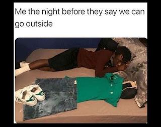 Corona, Quarantine Meme