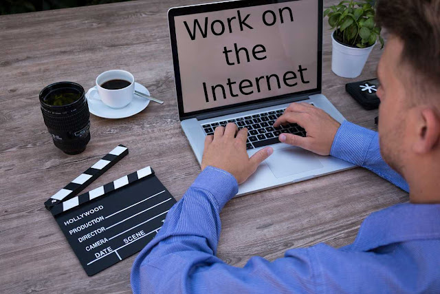 Health and energy for work on the Internet