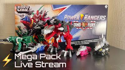 Power Rangers Dino Fury Megazord Review Video