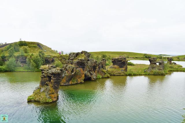 Höfdi en Mývatn, Islandia
