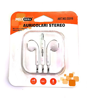 auricolare stereo iphone maxexcell 30016