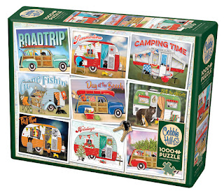 Hitting the Road box. A Cobble Hill puzzle by Mary Lake-Thompson