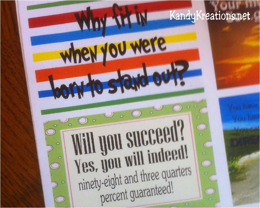 Dr Seuss Uplifting Printable Quotes
