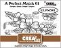 Set van 5 clearstempels om boeketjes bloemen te maken (boeket A). Set of 5 clear-stamps to make bouquets of flowers (bouquet A).
