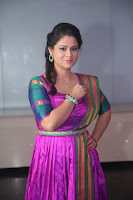 Shilpa Chakravarthy in Purple tight Ethnic Dress ~  Exclusive Celebrities Galleries 032.JPG