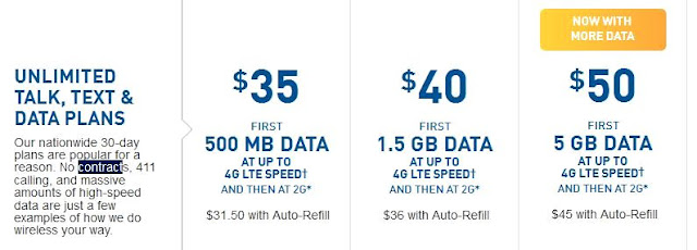 best prepaid cell phone plans