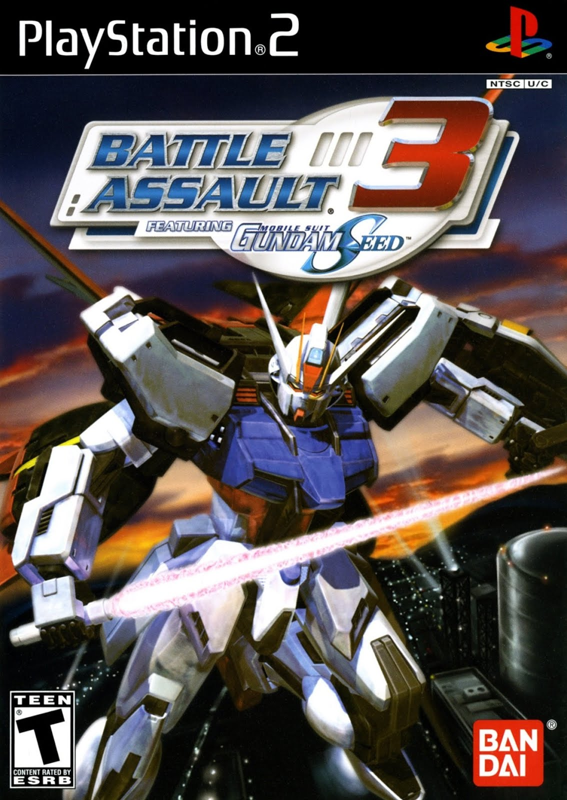 Battle Assault 3 Featuring Gundam SEED NTSC PS2