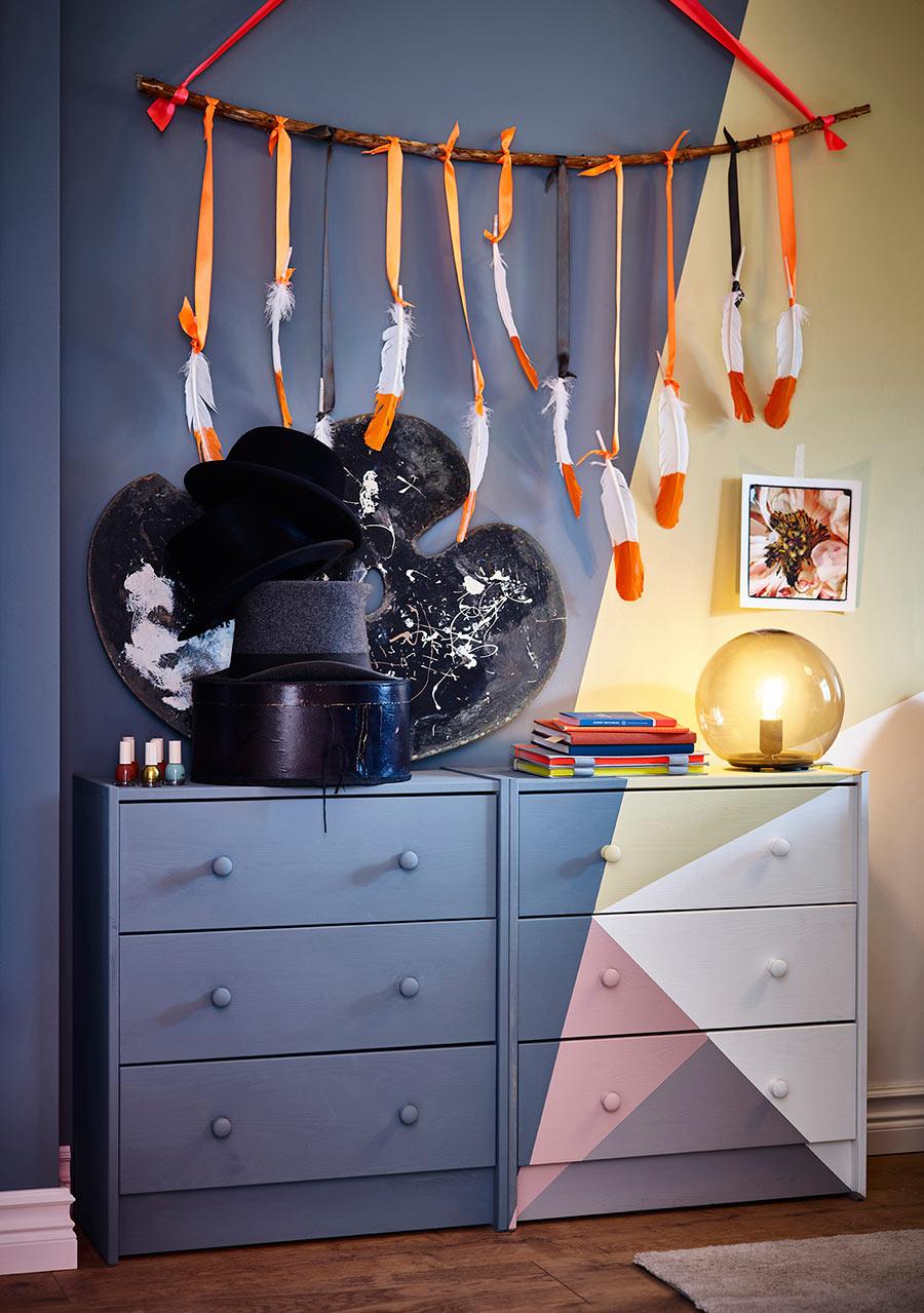 catálogo ikea 2020 cómoda pintada diy dormitorio juvenil