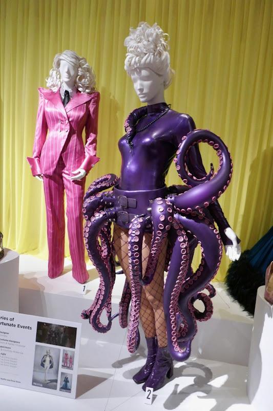 Lucy Punch Series of Unfortunate Events Esmé Squalor season 3 costumes