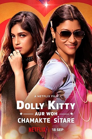 Dolly Kitty and Those Twinkling Stars (2019) Full Hindi Movie Download 480p 720p Web-DL