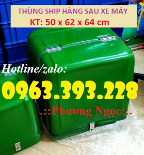 Thùng giao hàng cỡ lớn, thùng ship cơm hộp, thùng chở quần áo 6e8bbc8b97d673882ac7