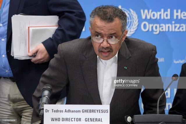 WHO tuyên bố tình trạng khẩn cấp toàn cầu