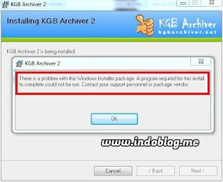 Cara Instal KGB Archiver
