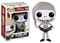 Pop! Disney: Nightmare Before Christmas - Pajama Jack Skellington.