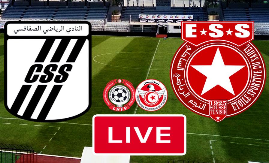 بث مباشر   مشاهدة مباراة كلاسيكو تونس بين النادي الصفاقسي و النجم الساحلي في الدوري التونسي