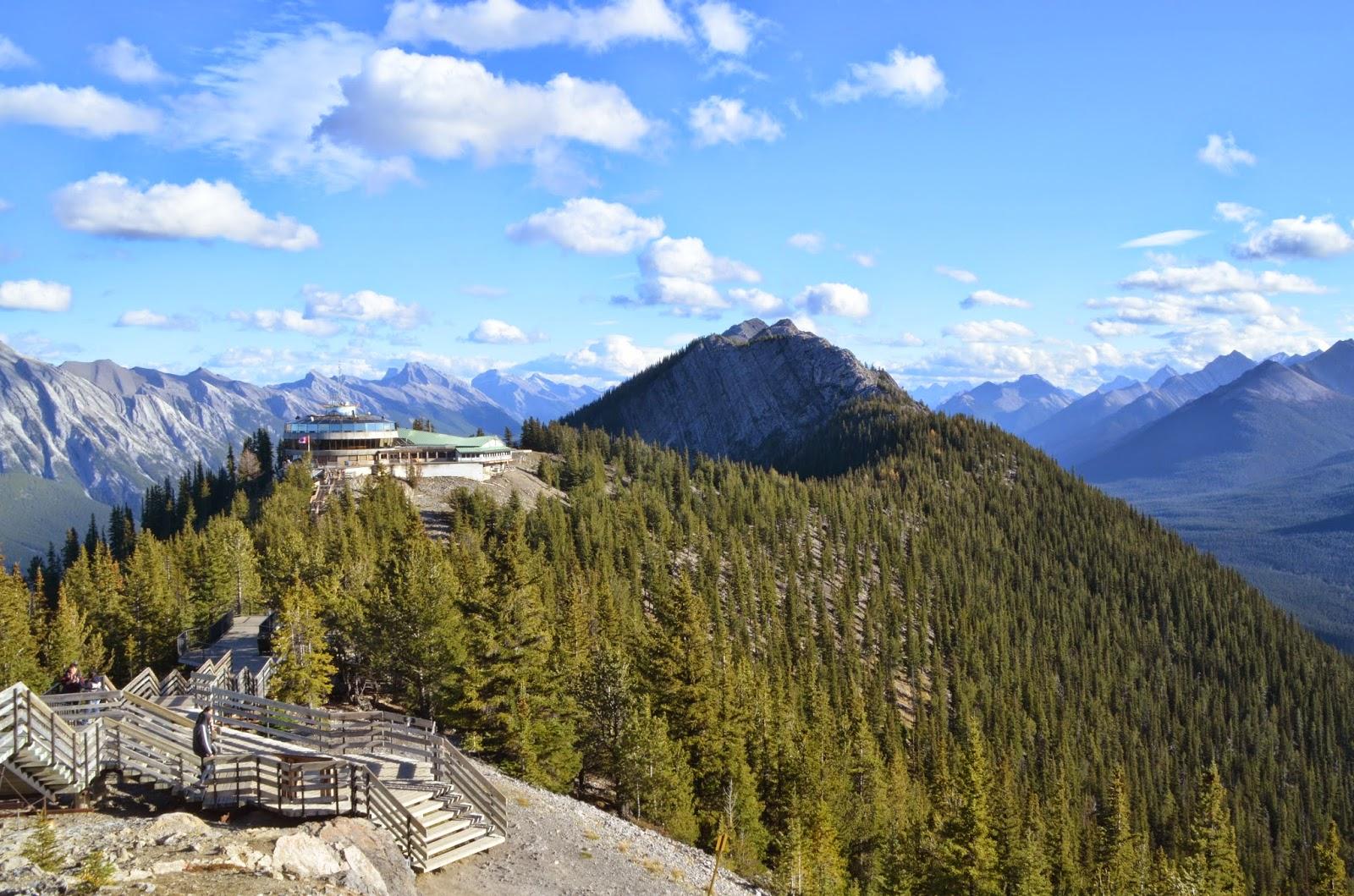 Gôndola de Banff, Canadá