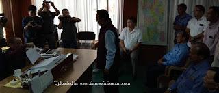 Mizoram Cong MLA  Lalrinliana Sailo