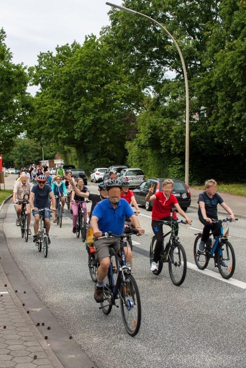 Fahrradsternfahrt Hamburg