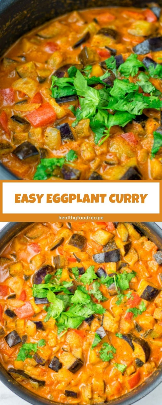 EASY EGGPLANT CURRY
