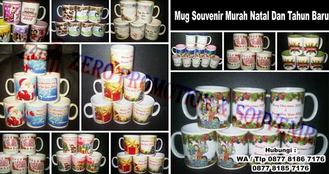 Cetak foto digelas (mug), mug tema christmas, mug custom logo, mug tema natal, souvenir natal sekolah minggu