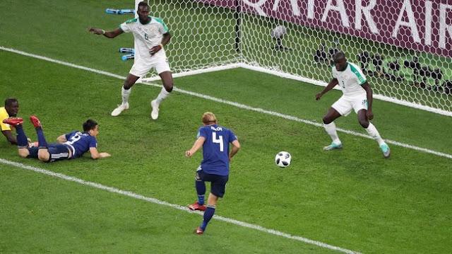 Piala Dunia 2018: Saling Berbalas Gol, Jepang vs Senegal Berakhir 2-2