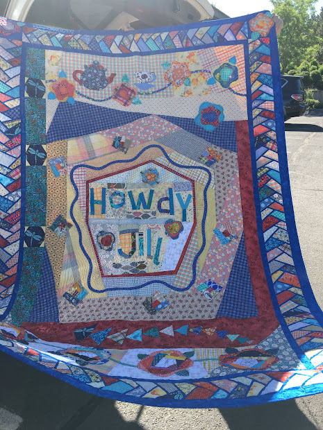 Barrister' Block Quilt Show Sponsor Quilts