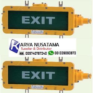 Jual Lampu Exit Light Fittings Warom BAYD85 Explo di De