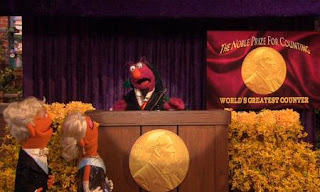 we see Telly is now on stage with a count costume. Sesame Street Count On Elmo
