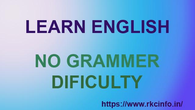 Spoken and Learn English Easily At Home-अंग्रेजी बोलना सीखे