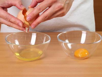 Comment préparer ce masque visage à l'œuf ?
