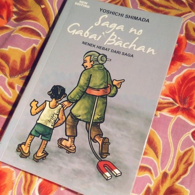 [BOOK REVIEW] Saga no Gabai Bachan by Yoshichi Shimada