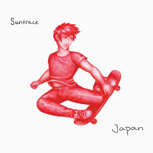 "Suntrace stream new EP ""Japan"""
