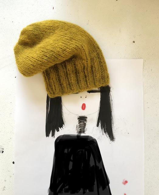 La fille au bonnet d'alpaga