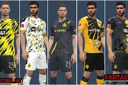 Borussia Dortmund Leaked Kits 2020-21 + Fantasy - PES 2017