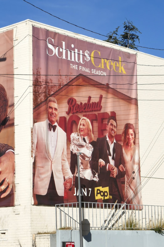 Schitts Creek final season billboard