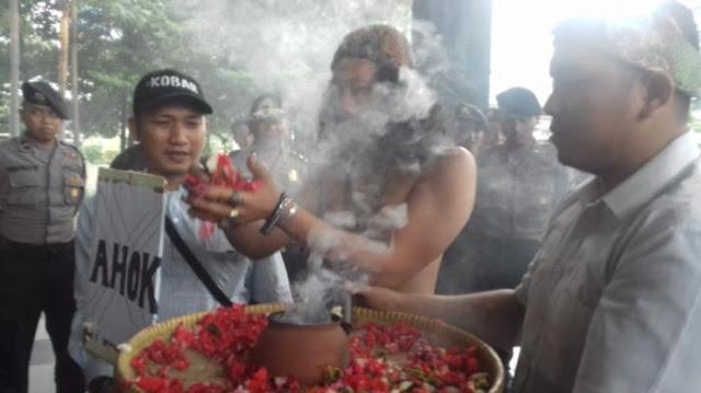GTA Bawa Dukun Dari Jabar dan Bali Ruwat KPK Segera Tangkap Ahok