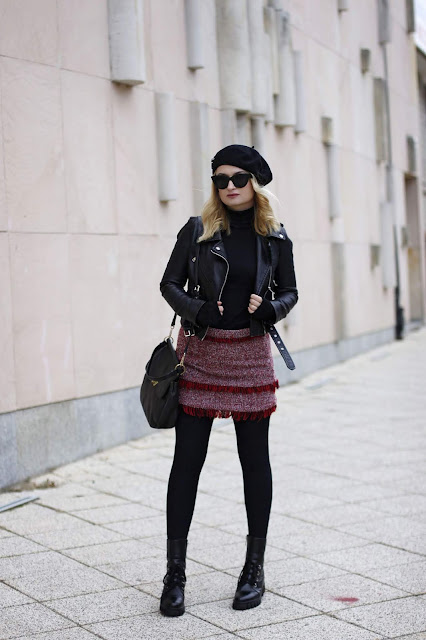 Moda na beret