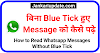 बिना Blue Tick हुए WhatsApp message को कैसे पढ़े | How to Read Whatsapp Messages Without Blue Tick in Hindi