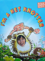 I'm a net knotter poster from Bristol Zoo